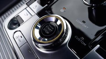 Bentley Continental GT start button