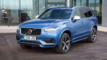 The Volvo XC90 features sufficient autonomous technology to make it the first Volvo that can effectively drive itself