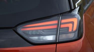 2021 Vauxhall Crossland SUV - rear tail light close up