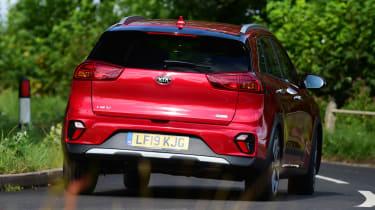 Kia Niro SUV rear cornering