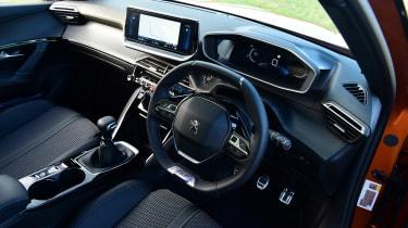 Peugeot 2008 SUV steering wheel
