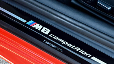 BMW M8 Competition coupe door sills