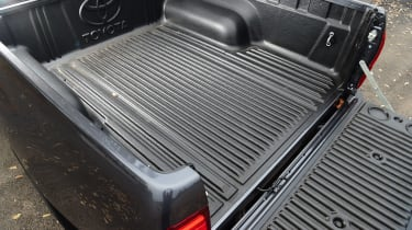 Toyota Hilux pickup cargo area