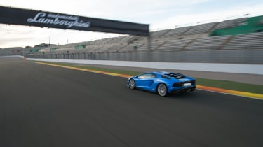 The Lamborghini Aventador isn't just about looking good, though
