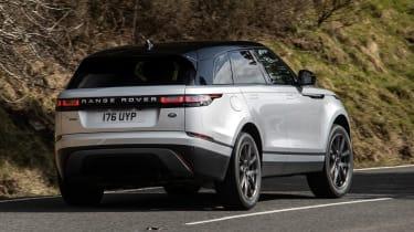 Range Rover Velar SUV rear 3/4 cornering
