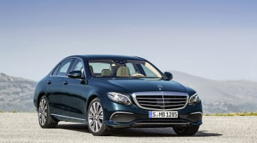 The latest Mercedes E-Class is available as an E350e plug-in hybrid