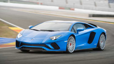Picking rivals for the Aventador is a tricky business