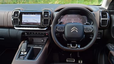 Citroen C5 Aircross SUV interior