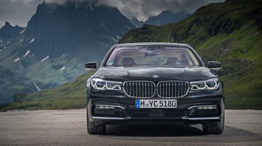 The electric motor alone can take the 740e up to beyond 80mph
