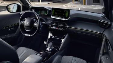 Peugeot 208 2019 interior