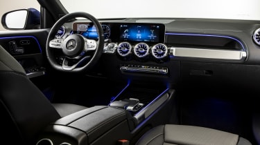 2019 Mercedes GLB - interior wide view