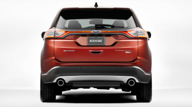 At 602 litres, the Ford Edge has one of the biggest boots of any car in its class.