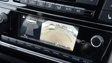 Volkswagen up! GTI hatchback rear-view camera