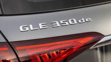 Mercedes GLE 350 de tailgate badge