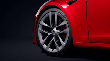 2021 Tesla Model S Plaid - alloy wheel