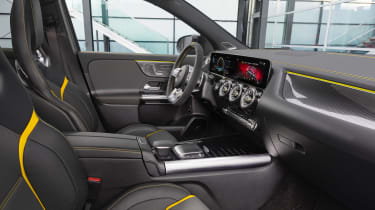 Mercedes-AMG GLA 45 S SUV dashboard