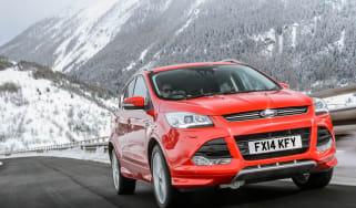 Ford Kuga Titanium X Sport SUV front tracking