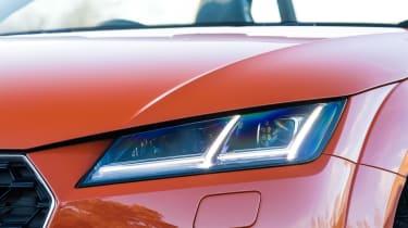 audi tt roadster convertible headlight