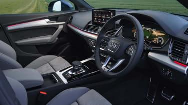 Audi Q5 Sportback SUV - interior wide angle