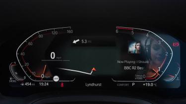 BMW 3 Series Touring dials