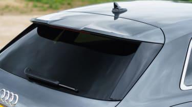 Audi A3 Sportback hatchback boot spoiler