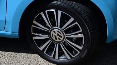 Of the trio, the VW arguably gets the best wheel designs too, being slightly more expensive than the Citgo or Mii