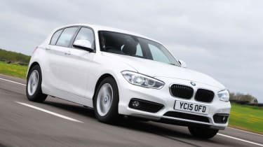 BMW 1 Series - dynamic 3/4 view