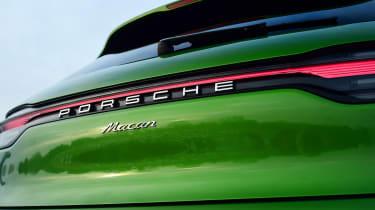2020 Porsche Macan - rear tailgate