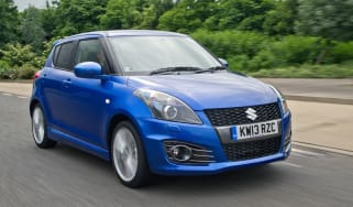 suzuki swift sport five door hatchback 2013 front tracking