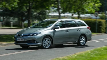 The Toyota Auris Touring Sports is a medium-sized, five-door estate