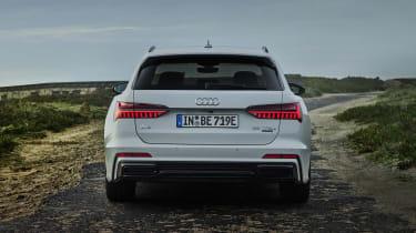 Audi A6 Avant plug-in hybrid rear end