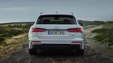 Audi A6 Avant plug-in hybrid rear end