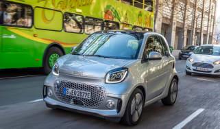 Smart EQ ForTwo driving