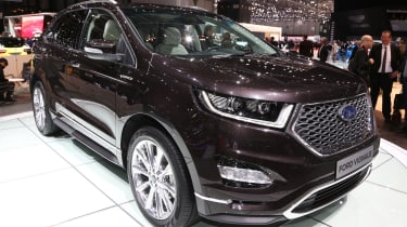 The imposing Ford Edge is one of the more expensive cars in the Vignale stable