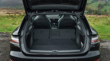 Volkswagen Arteon Shooting Brake estate boot seats folded