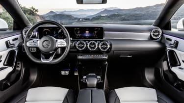 2019 Mercedes CLA Shooting Brake - interior view