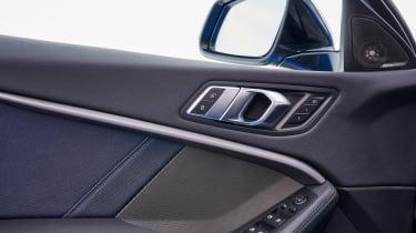 BMW M135i door panel controls