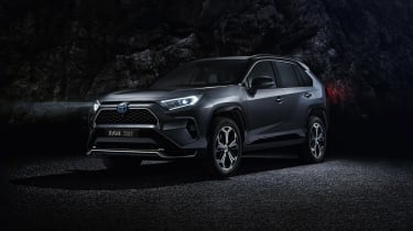 Toyota RAV4 Plug-in Hybrid in darkness