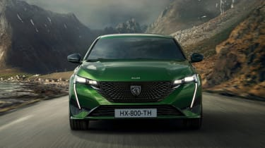 2021 Peugeot 308 - front on dynamic