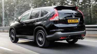 Honda CR-V SUV 2014 Black Edition rear tracking