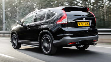 Honda CR-V SUV 2014 Black Edition rear tracking