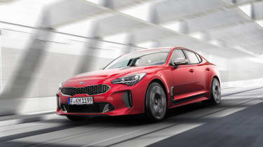 The standard Stinger has a 252bhp turbocharged 2.0-litre engine