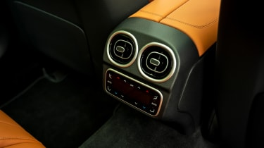Mercedes C-Class Estate rear air vents
