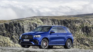 Mercedes-AMG GLE 63 S - front 3/4 static view