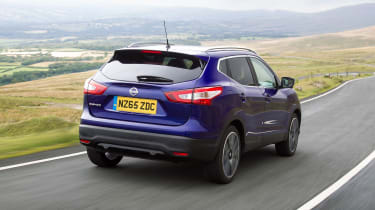 The fact that the Qashqai is takes up no more space on the road than a regular family hatchback means it's easy to park