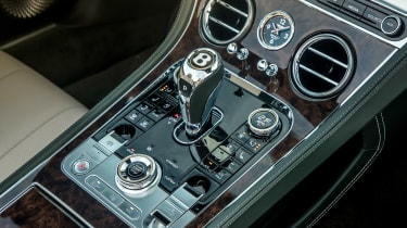 Bentley Continental GT Convertible centre console