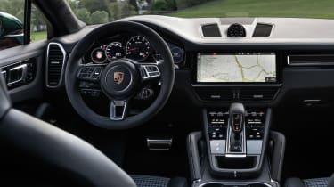Porsche Cayenne Coupe SUV interior