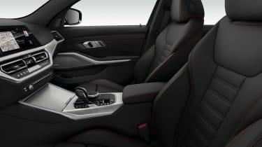 BMW 3 Series 2019 interior