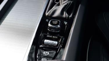 Volvo S60 saloon centre console