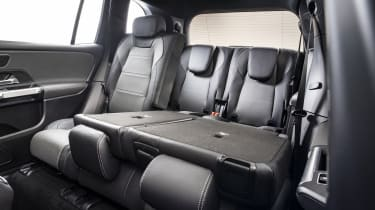 2019 Mercedes GLB - rear folding seats